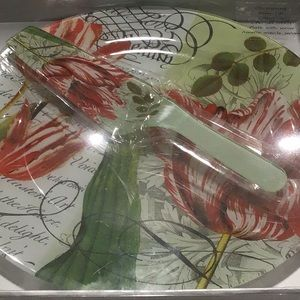 Cake Plate with Server